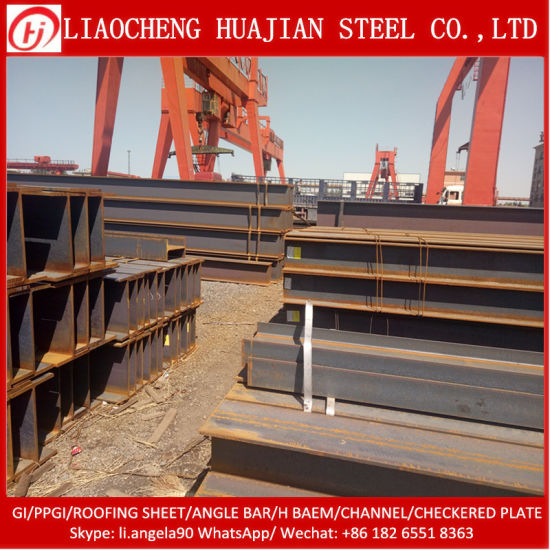 Q235B Equivalent Steel H Beam Iron for Building Material pictures & photos