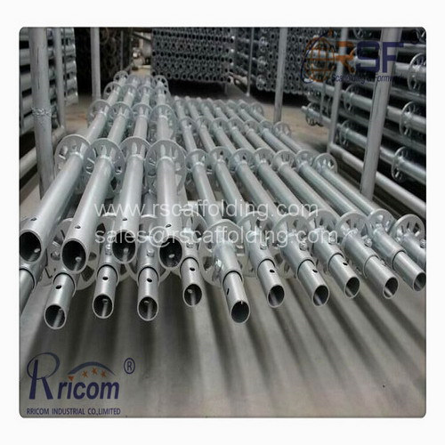 Hot Dipped Galvanized Layher Ringlock Scaffolding pictures & photos