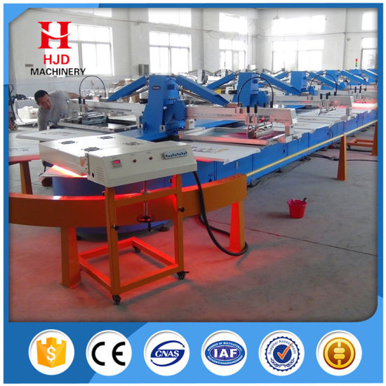 Latest Products 8 Colors Full Auto Oval Screen Printing Machine