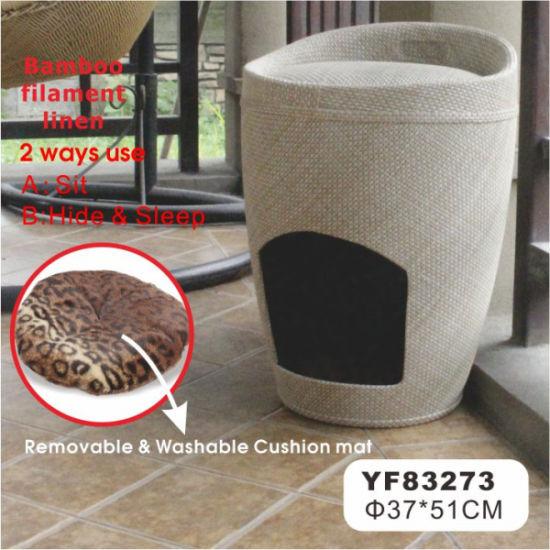 Unique Design Cardboard Cat Bed, Pet Bed for Cat (YF83273)