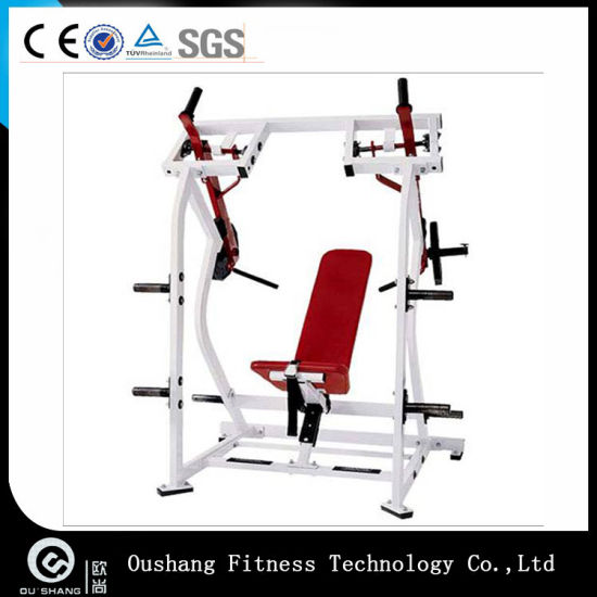 OS-H007 Hammer Strength Plate Loaded ISO-Lateral Shoulder Press Fitness Gym Equipment