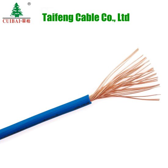 Solid/Flexible PVC Insulated Copper Wire Building Electric Cable Wire