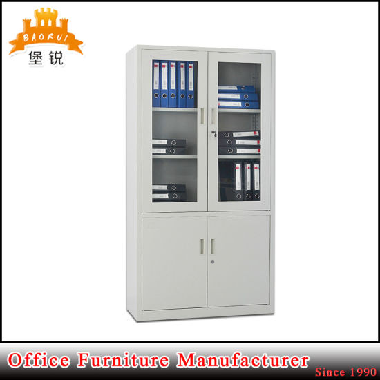 Hot Gl Door Metal Furniture Laboratory Chemical Use Book Cabinets Office Steel Medical Iron Cupboard