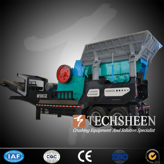 Techsheen Cone Crusher Mobile Crushing Plant (MP1200CPYQ) pictures & photos