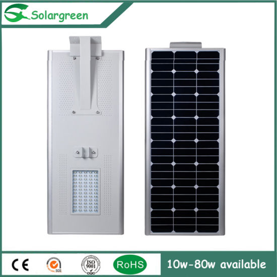 10W Integrated Solar Panel Battery Solar LED Street Lighting pictures & photos