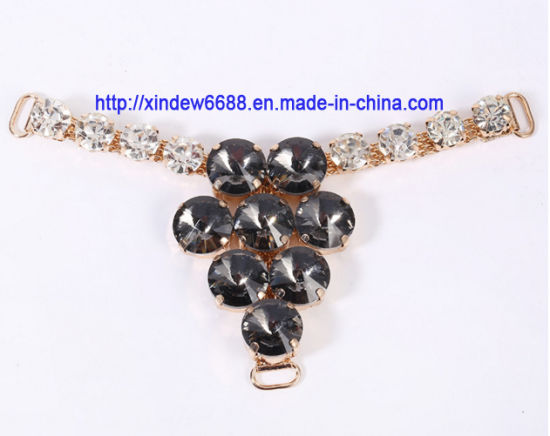 Shoe Buckle Rhinestone Shoe Decoration for Women Shoe