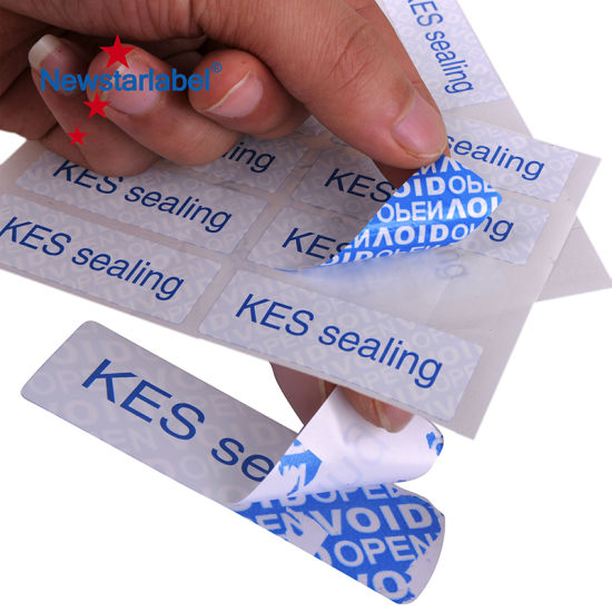 Food Adhesive Label Stickers Waterproof Custom Business Labels