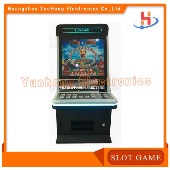 Metal Cabinet Africa Popular Slot Jackpot Game Machine