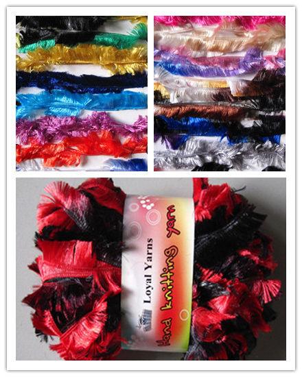 100% Polyester Boa Feather Yarn
