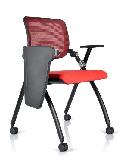 Charmant Factory Price BIFMA Certificate Folding Training Chair With Writing Board