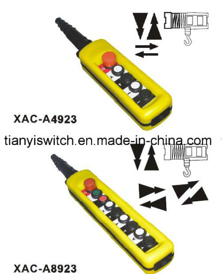 China xac a4923 or xac a8923 crane hoist switch pendant control xac a4923 or xac a8923 crane hoist switch pendant control stations aloadofball Choice Image