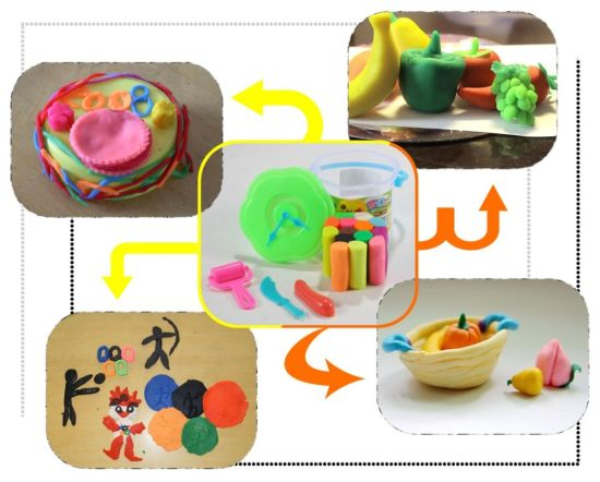 China Intellect Magic Kids Clay Craft Toy Making China Clay Craft