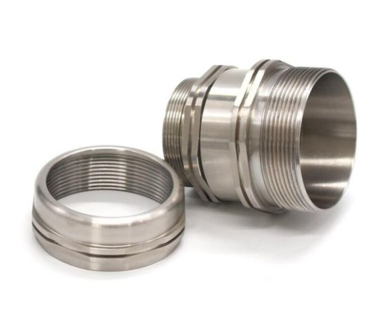 CNC Machining Gold Plating Steel CNC Machining Parts, Aluminium CNC Milling Machining Service