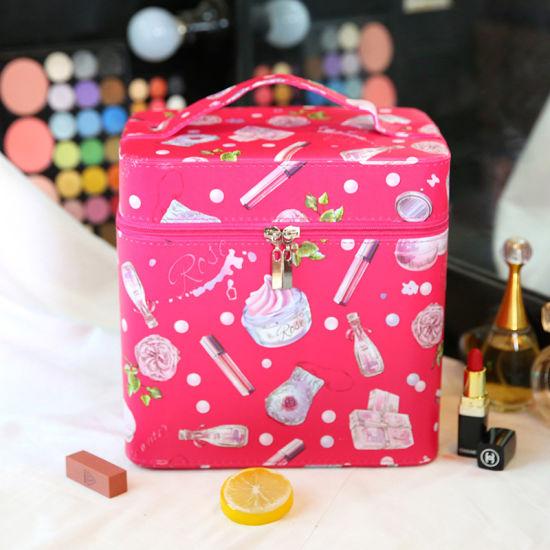 China Pu Cosmetic Bag Case Guangzhou