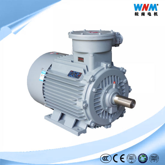 Yb3 Atex Three Phase AC Induction Electric Explosion Proof Motor Ex D Protection Di Mine Dii At4 Bt4 Plant IP55 for Fan Pump Blower Compressor Yb3-225m-2 45kw
