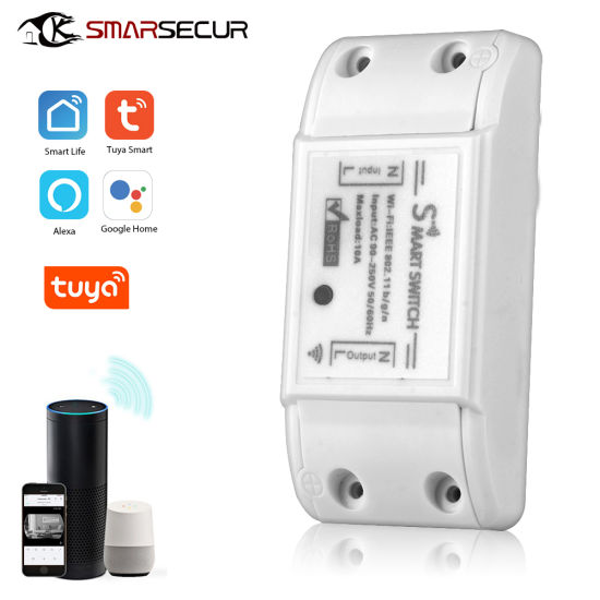 Smart Home Wireless Remote Control WiFi Switch Tuya Basic pictures & photos