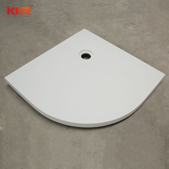 Solid Surface Bathroom Furniture Artificial Stone Shower Tray