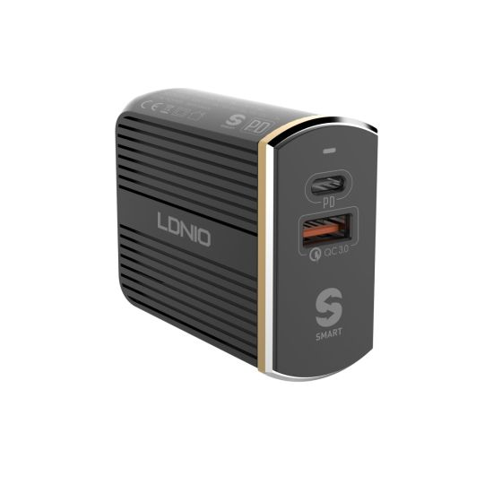 36W USB C /& Quick Charge 3.0 USB A Wall Outlet With Dual Plugs