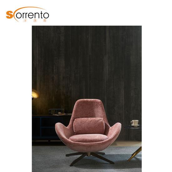 Single Modern Bedroom Chairs Relaxing Sofa Chair Swivel Sitting Room