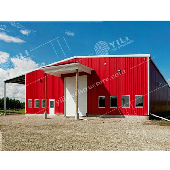 Low Cost Factory Workshop Light Frame Prefab Steel Structure Prefab House