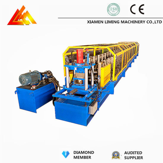 Trade Assurance Color Steel Sheet C Roll Forming Machine