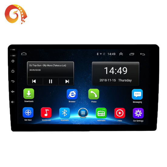 10.1 inch 2Din MP5 Multimedia Player Car Radio Stereo Touch Pad Universal 12V 1x