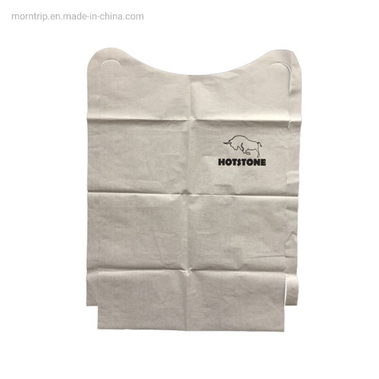 Print Custom Poly Keep Clothing Clean for Adult or Baby Disposable Paper Aprons with Film