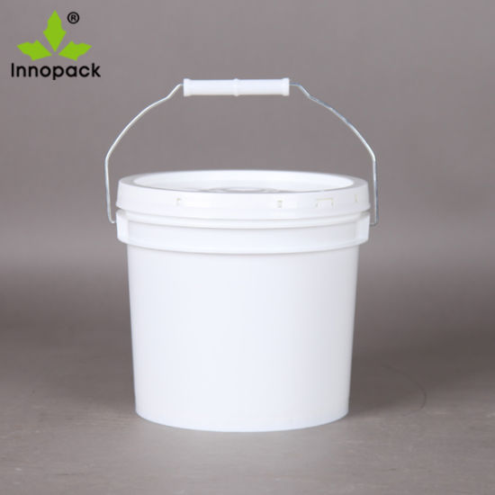High Quality 13L Heavy Duty Plastic Pails Paint/Coating Buckets