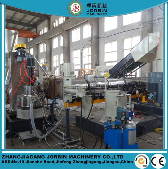 Low Price 500kg/H LDPE HDPE Agriculatural Film Pelletizing Machine