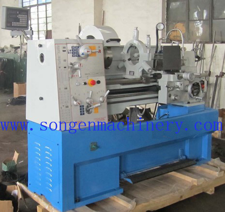Swing Over Bed 410mm Precision Gap Bed Engine Lathe pictures & photos