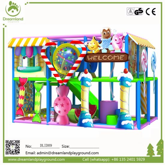 2017 New Products Colorful Children Commercial Playground Indoor Playground for Kids pictures & photos