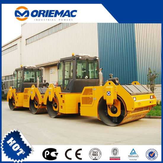 Oriemac 12 Ton Hydraulic Double Drum Road Roller Xd121e pictures & photos