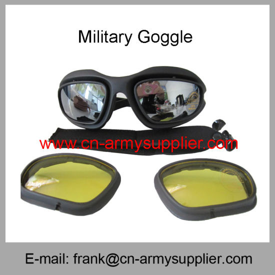 Shooting Goggle-Protective Eyewear-Ride Glasses-Police Goggle-Army Goggles