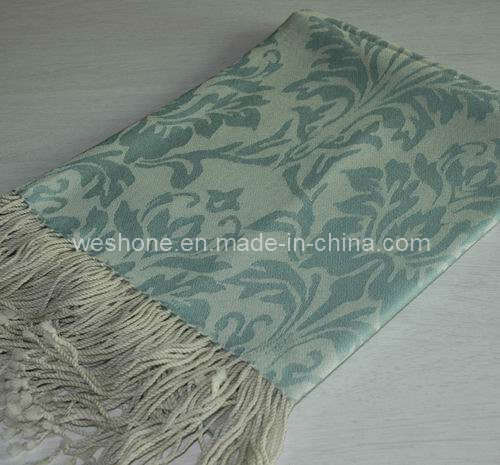 Super Soft Jacquard Merino Wool Throw pictures & photos