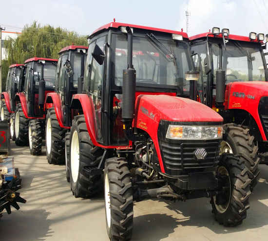 55HP Farm Tractor 4WD or 2WD with Canopy or Cabin & China 55HP Farm Tractor 4WD or 2WD with Canopy or Cabin - China ...