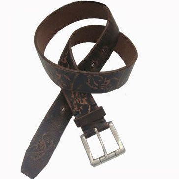Classic Men′s Genuine Leather Waist Belt (JYB-27026) pictures & photos