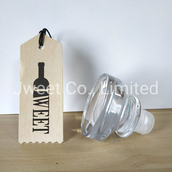 Glass Bottle Cap Stopper for Spirits Glass Bottle