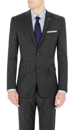 b50941a8b38 China OEM Wholesales Pierre Cardin Suit in Charcoal - China Men′s ...