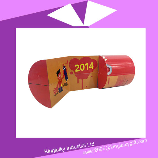 Folding Cylinder Magic Cube Calendar with Branding Mc016-004 pictures & photos