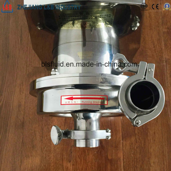Bls Model Sanitary Stainless Steel Beer Centrifugal Pump pictures & photos