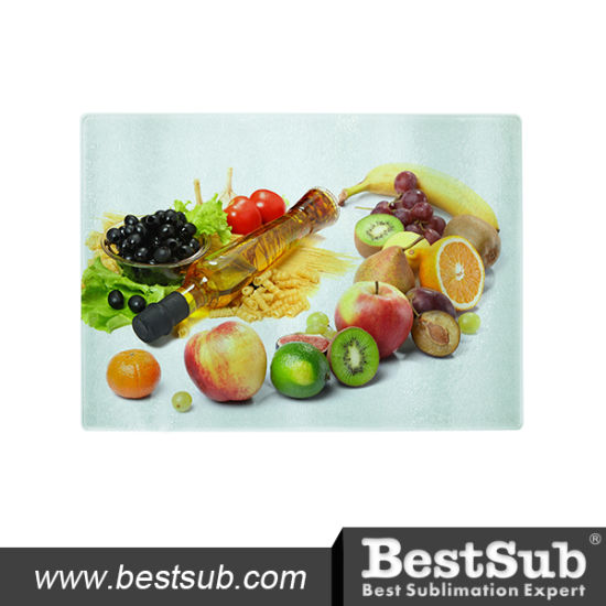Bestsub Sublimation Glass Cutting Board (CB03) pictures & photos