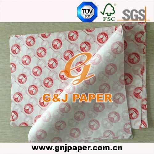 Good Quality Printed Greaseproof Packing Paper for Chicken/Hamburger/Sandwich/Hot Dog pictures & photos
