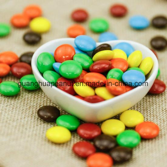 Rainbow Chocolate Beans Fruit Candy Beans