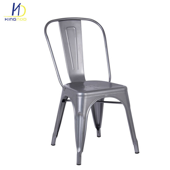 china replica tolix design dining metal restaurant chairs china