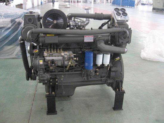 China 1800rpm, 40kw 4105 Ricardo Marine Diesel Engine for Gearbox Use pictures & photos