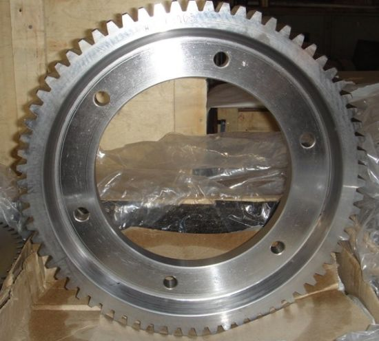 Hot Forging Transmission Spur Gear pictures & photos