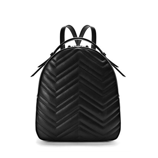 Lady Fashion Back Pack Genuine Leather Backpack
