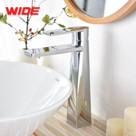 Fancy Design Brass Bathroom Faucet Basin Mixer with High Quality