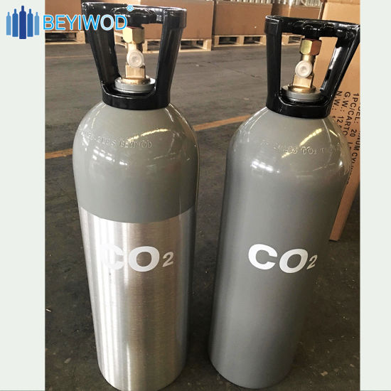 20lbs CO2 Tank Aluminum Cylinder with Cga320 Valve and Handle