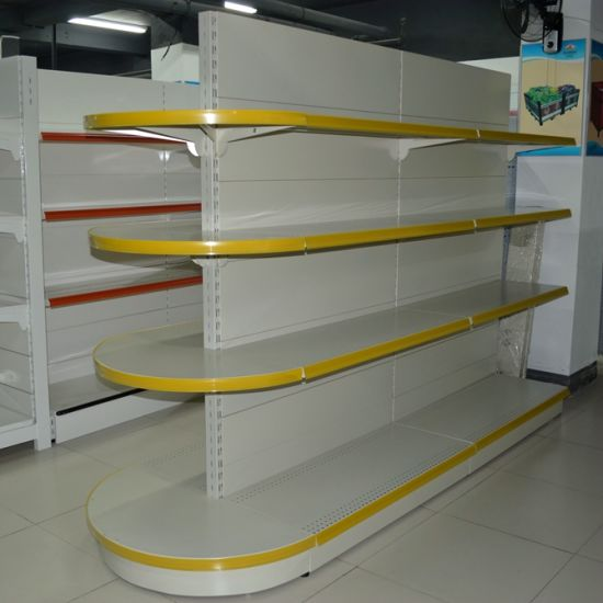 Gondola Supermarket Shelf